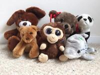 Kids Soft Cuddly Toys x6