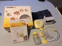 Medela Swing Electric Breast Pump - complete with all parts , Calma bottle and instructions