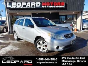 2005 Toyota Matrix Automatic,Power locks*Certified*