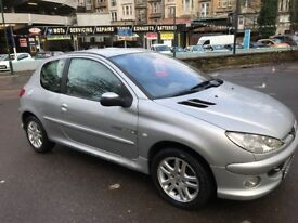 2004 Peugeot 206 With a long MOT good low cost running car