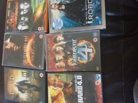 6 Action DVDs