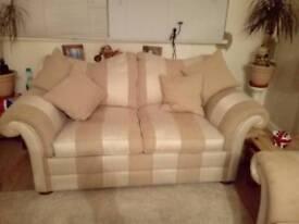 2 seat sofa STILL LIKE NEW 2yrs old