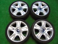 "FORD FOCUS TITANIUM X SPORT ST, MONDEO, S-MAX, TRANSIT CONNECT 18"" ALLOY WHEELS"