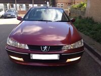 PEUGEOT 406 GLX PETROL ENGINE E7 - FINISHED IN METALLIC MAROON/WINE