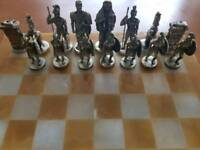 marble chess board,