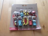 Paperchase Nativity Collectable Erasers