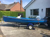16ft fishing boat outboard motor Yamaha