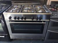 Range cooker 90cm Duel/fuel KENWOOD