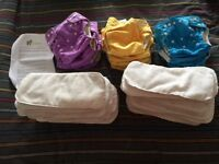 Little lamb one size fits all nappies
