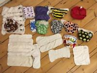 Reusable Nappies - mixed bag