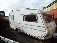 Carlight 2 berth caravan for sale