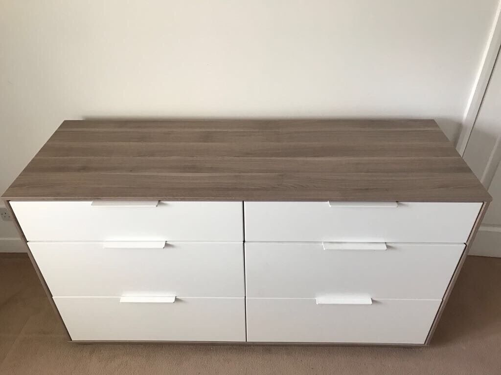 Ikea Askvoll 6 Drawer Chest Dresser Unit In Kirkcaldy