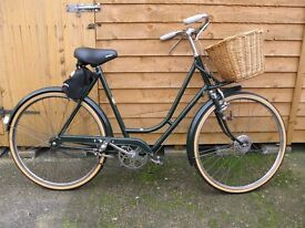 Ladies Bike Old Fashioned from the 1950s