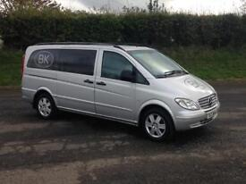 2008 Mercedes Vito 111CDI 2.2 diesel 8 seater leather