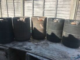 10 gallon (approx 39 litres) fuel containers