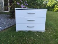 Argos Three Drawer Chest - Barely Used