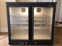 Gamko drinks fridge - double hinged door 250 litres