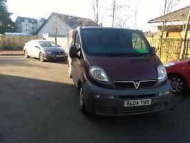 Vauxhall Vivaro 1.9 cdti campervan