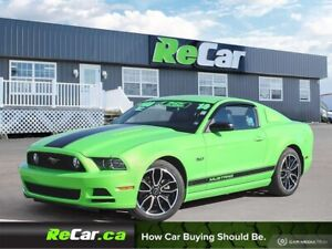 2014 Ford Mustang GT 5.0L | 6-SPEED | HEATED LEATHER