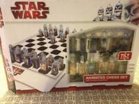 Star Wars animated chess set