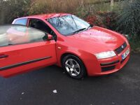 Fiat stilo, Red,Manual,Petrol £350