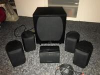 Wharfedale Moviestar 65+ 5.1 Surround Sound Speakers