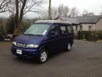 HI SPEC MAZDA BONGO 2.5 TD MOTOR CARAVAN/BRAND NEW KITCHEN CONVERSION/COOLANT ALARM /NEW CAMBELT
