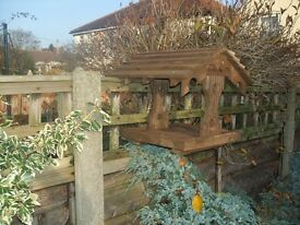 Fence Hung Bird Table