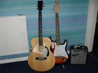 guitars/amp/tuner