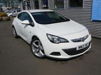 VAUXHALL ASTRA 1.4 GTC SPORT S/S 3d 118 BHP (white) 2013
