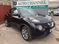 Nissan Juke 1.6 Tekna XTRONIC CVT 5dr£11,895 p/x welcome TOP OF THE RANGE MODEL.SAT NAV