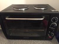 Igenix Oven IG7420 with double Hotplate