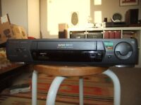 Panasonic NV-HD640 Video Cassette Recorder plus remote control and tapes