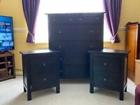 Quick sale wanted Hemnes 6 drawer chest of drawers & 2 bedside tables