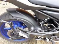 Yamaha XJ6 2013+ rear hugger