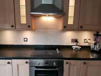 Kitchen Units and Appliances (Beech)