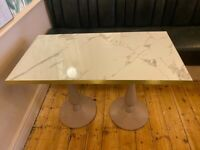 Sell Café table 4pers marble top finish