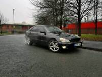 Lexus is200 2002 black