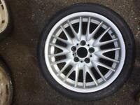 BMW MV1 Rear Alloy Wheel with tyre 8.5J