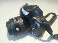 Minolta Camera Dynax 300si with zoom lens