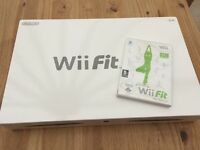 Wii Balance Board and Wii Fit Game