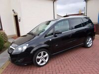 * * WOW ! * * VAUXHALL ZAFIRA 1.9 SRI 150 cdti ( X pack ), 7 SEATER, ESTATE / MPV !