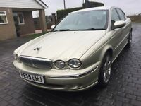 \\\ 55 REG JAGUAR X TYPE SE , DIESEL , \\\ WITH SAT NAV \\\ £1699