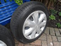 Citroen Xsara Picasso wheels