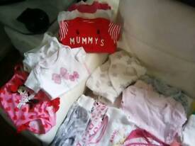 3-6 mnths baby girl clothes