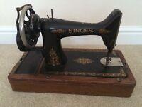 Vintage singer sewing machine 1926