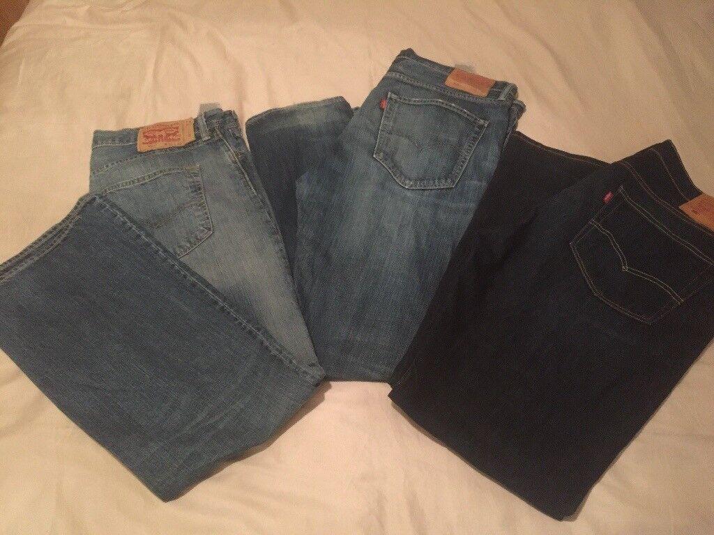 Men's Levi Jeans W36 L32