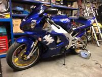Yamaha r1 swap px
