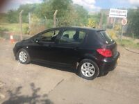 PEUGEOT 307 hdi diesel. TAXD and MOTD £325. Yes £325