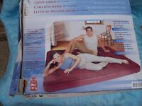 Double size airbed used 2 times but still in box